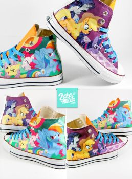 Pony Chucks by Bobsmade