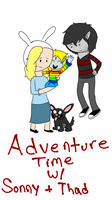 Adventure Time with Sonny and Thad by MelloChello195