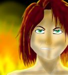 I see fire in her eyes TOTDR by IceLeBLU16