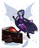 Syrup the Vampiric Pixie by FlammablePerson