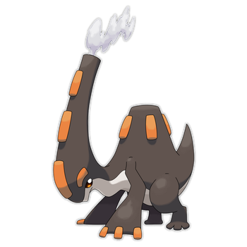 Thermolophus, Blast Fakemon by Smiley-Fakemon