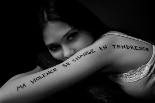 violence en tendresse. by oneandthehalf