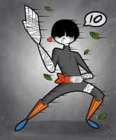 10 - rock lee preview by kungfumonkey