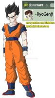 Ultimate Gohan (color) by RyoGenji