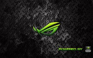 ASUS R.O.G. Cuda Wallpaper by bobakazooboy