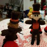 Crocheted Professor Layton by SapphireDrumminGirl