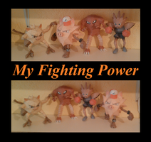 My Fighting Power by Adisko