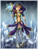 Crystal Sorceress by HasaY