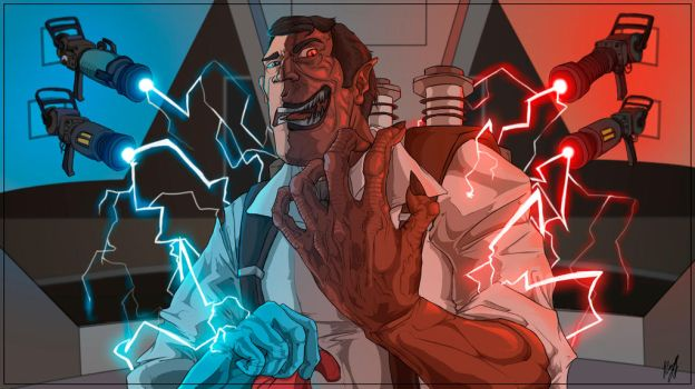 TF2. Two-face by Anabed14