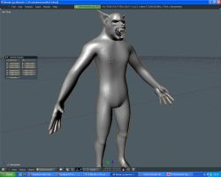 werewolf blender by djsaman