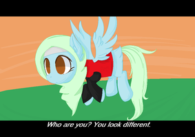 [Fake Screenshot Gift]- Different by Bacca-Chan