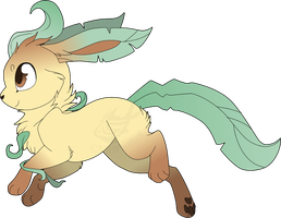 Leafeon by MBPanther