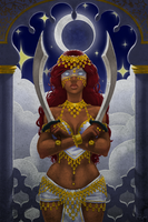 Two of Swords - Arabian Nights by 00chalcedony00