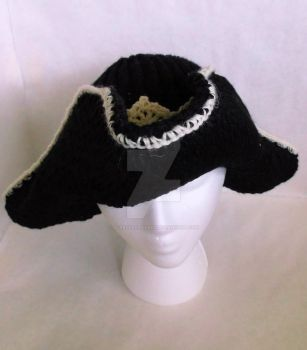 Loom Knit Pirate Hat by ScarlettRoyale
