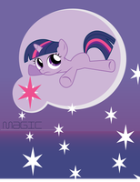 Twilight Sparkle Cell Wallpaper (BlankFlank 1) by SamXJing