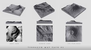 Terragen Map Pack No.2 by cagdasyoldas