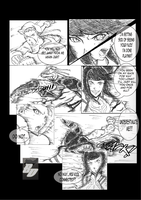 Street fighter practice manga by badokami