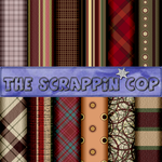 ScrappinCop Pattern Set1 by debh945