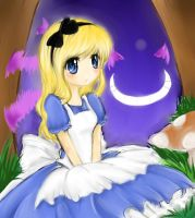 Alice In Wonderland by wiissbb123600