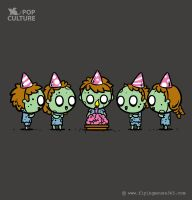 FM Pop Culture 028 - Birthday Party by flyingmouse365