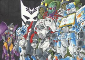Decepticon, transform and raise up! by MAD-project