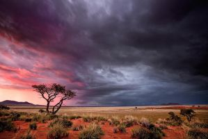 Evening storm by Zefisheye