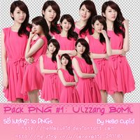 PNG Pack Ulzzang BoMi # 1-By Hello Cupid by HelloCupid
