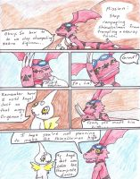 Digimon Team: mission 0, pg1 by MiniDragonfly