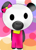 hello kitty panda by 222222555555