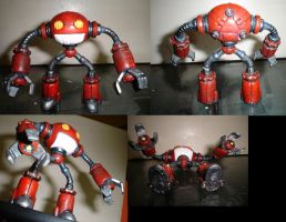 Upgraded RED-6 Figurine by silverlimit