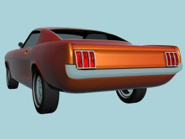 Ford Mustang wip3 Rear by prox3h