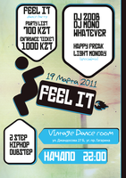 FEEL IT Party Poster by danila2freak