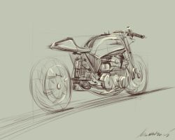 daily sketch 4324 by nosoart