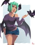 Morrigan with short hair by ParSujera