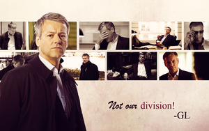 BBC Sherlock Wallpaper - Lestrade by Sidhrat
