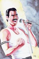 Freddie Mercury by BrunoBull