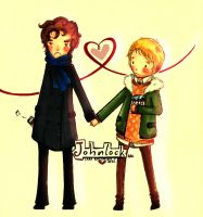 Johnlock by Yaya-Nyan