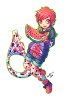 Watermelon Love by Tataouin