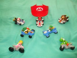 Mario Kart Toys by Gamekirby