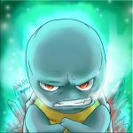 Squirtle is Cold by MasterPloxy