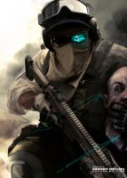 Ghost Recon Future Soldier Official Art #8 by DarkApp