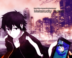 Kagerou Project: Mekakucity Actors - WALLPAPER by Silas-Tsunayoshi