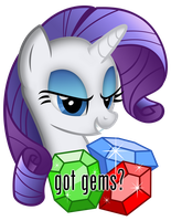 "Rarity: ""Got gems?"" by adamlhumphreys"