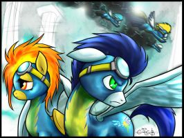 The Wonderbolts - Taking Flight by Ereb-Tauramandil