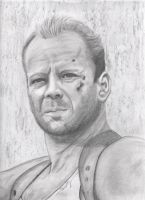 Bruce Willis by candysamuels