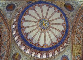 Dome of the Blue (Sultan Ahmet) Mosque, Istanbul by artamusica