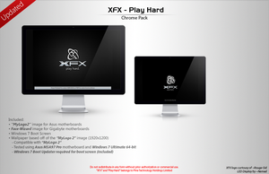 XFX - Play Hard [Chrome Pack] by LordReserei