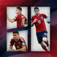 +James Rodriguez photopack png by ForeverTribute