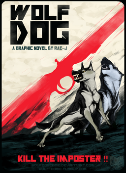 WolfDog cover 1 by RAE-J