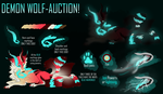 CELTIC DEMON-WOLF|AUCTION CLOSED! by Kaysa99